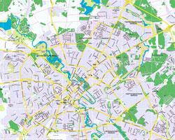 Минск - карта города