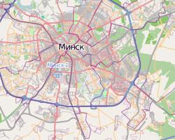 подробная карта минска