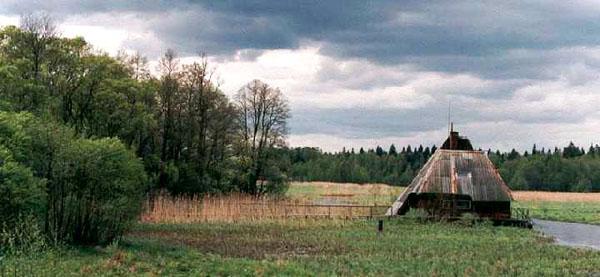 Избушка в Беловежской пуще