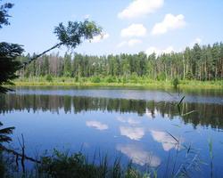 Озеро в Белоруссии