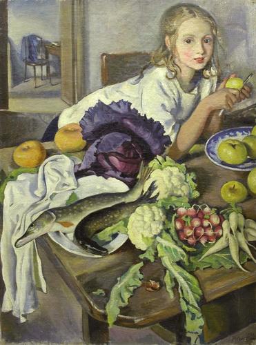 Картина «Катя с натюрмортом» (холст ...: www.turist.by/news/02595