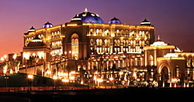 Полуденный чай в отеле Emirates Palace