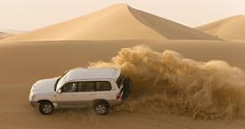 Сафари в пустыне Абу-Даби