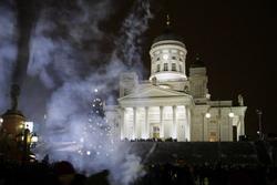 По финским старинным представлениям новый год