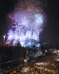 В Шотландии новый год