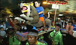 Индонезия Новый год